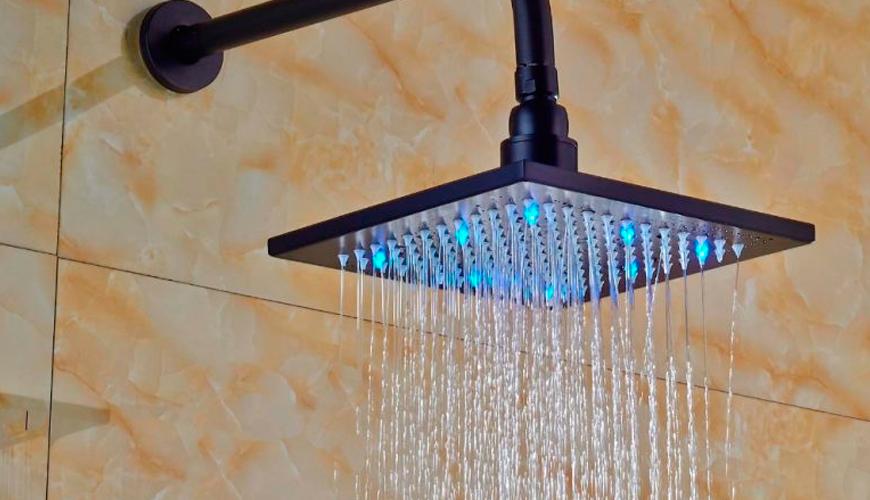 I soffioni doccia led. Cosa sono e a cosa servono