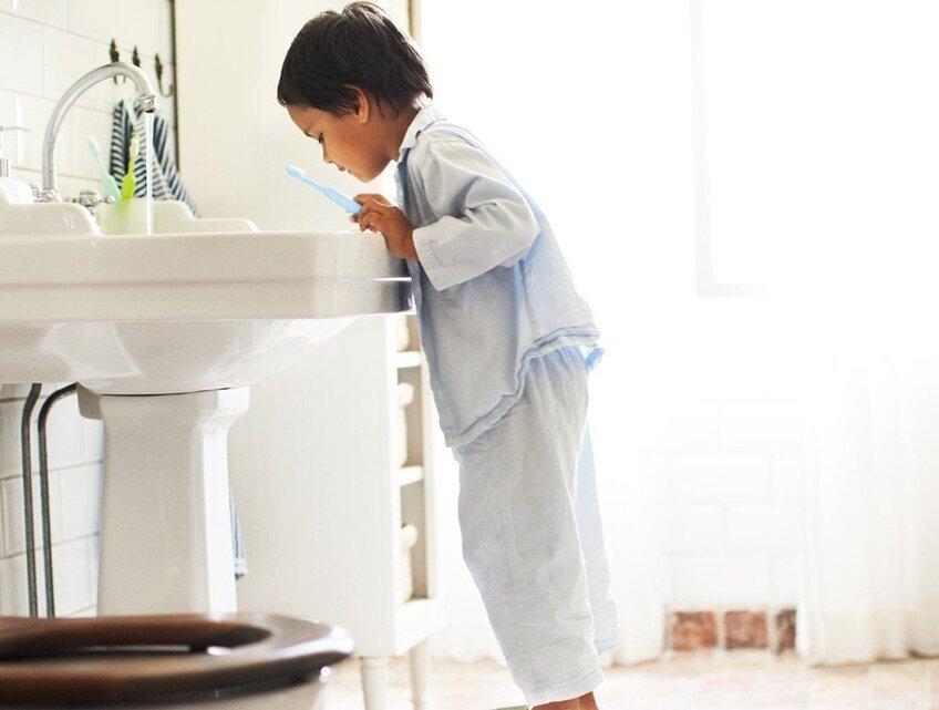 Come rendere il bagno sicuro per i nostri figli